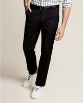 Express slim photographer black performance pant