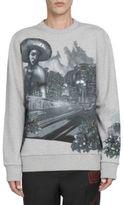 Lanvin Abstract Printed Cotton Sweatshirt