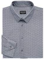 Giorgio Armani Printed Cotton Dress Shirt