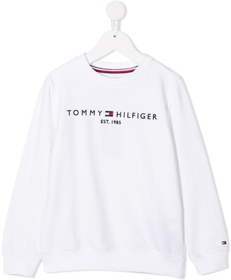 Tommy Hilfiger Junior Logo-Embroidered Sweatshirt