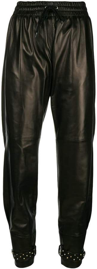 Givenchy slouched biker trousers