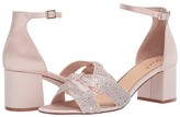 Badgley Mischka Nicolette (Champagne/Clear) Women's Shoes