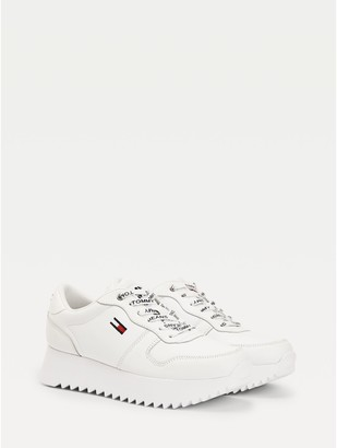 Tommy Hilfiger Cleated High Leather Sneaker