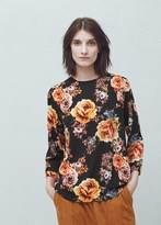 Mango Outlet Floral print blouse