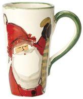 Vietri Old St. Nick Latte Mug