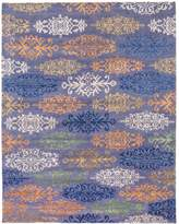 Ecarpetgallery La Seda Indoor Hand-Knotted Wool And Silk Rug