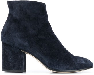Officine Creative Lou suede ankle boots