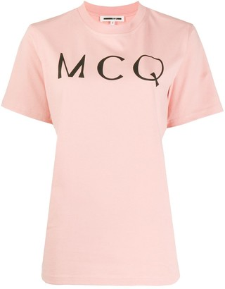 McQ logo print short sleeve T-shirt