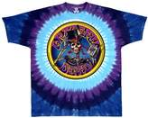 Liquid Blue Men's Grateful Dead Queen Of Spades Short Sleeve T-Shirt,Multi
