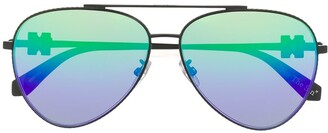 Off-White Aviator-Frame Sunglasses