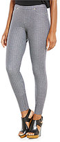 MICHAEL Michael Kors Chevalier Texture Print Knit Twill Leggings
