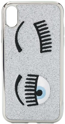 Chiara Ferragni Flirting embroidered iPhone XR case