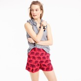 J.Crew High-waisted short in elephant print