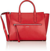 Trussardi WOMEN'S TOP-ZIP TOTE BAG-RED
