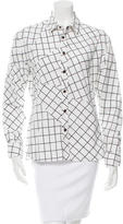 Tomas Maier Printed Button-Up Top