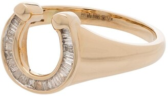 Adina Reyter 14kt Yellow Gold Diamond Stackable Ring
