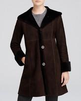 Lamb Shearling Coat - ShopStyle