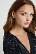BCBGeneration Rhinestone Pave Chandelier Earrings - Silver