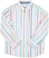 Paul Smith Striped Cotton Poplin Shirt