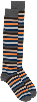 Marcoliani Milano Striped Print Socks