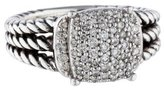 David Yurman Diamond Petite Wheaton Ring
