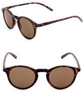 Dockers Tortoiseshell 53mm Oxford Sunglasses