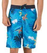 Speedo Men's Paradise Floral VaporPLUS Microfiber E-Board Shorts