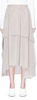 Stella McCartney Floral print silk crepe skirt