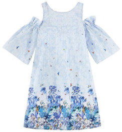 Paul & Joe Sister Mantegna Dress - 36 - Blue/White