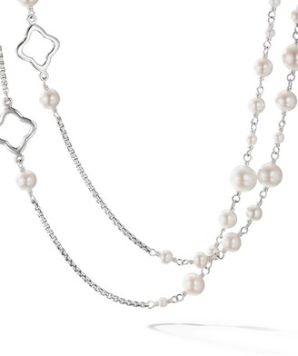 David Yurman Bijoux Chain Necklace with Pearls