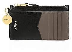 Givenchy Women's GV3 Bicolor Leather Card Case