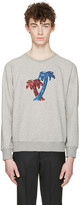 Marc Jacobs Grey Palm Trees Pullover