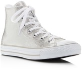 Converse Chuck Taylor All Star Stingray Embossed Metallic High Top Sneakers