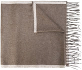 Salvatore Ferragamo fringed scarf - men - Silk - One Size
