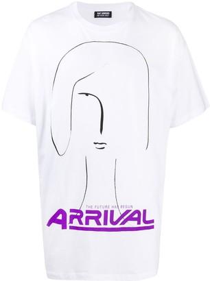Raf Simons slogan-print T-shirt