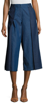Plenty by Tracy Reese Tailored Wide Leg Denim Trouser