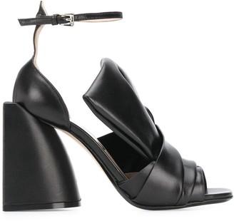 No.21 Bow-Embellished Sandals