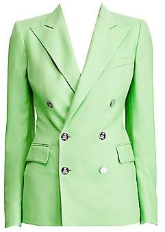 Ralph Lauren Women's Camden Cashmere Double Breasted Blazer