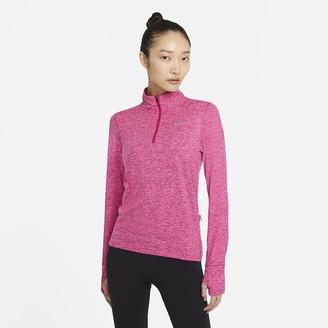 Nike Women's 1/2-Zip Running Top Element