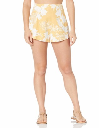 Seafolly Women's Printed High Waist Short Swimwear Cover Up