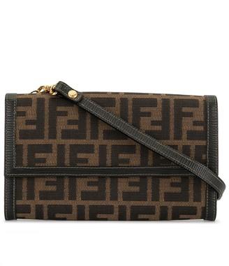 Fendi Pre-Owned Zucca pattern shoulder bag