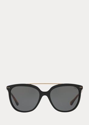 Ralph Lauren Metal-Frame Square Sunglasses