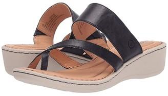Børn Siene (Navy Full Grain Leather 2) Women's Shoes