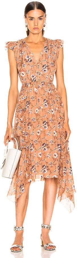 Ulla Johnson Ciel Dress in Cafe | FWRD