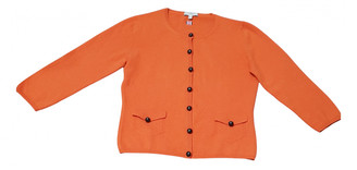 Burberry Orange Cashmere Jackets