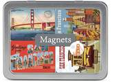 Cavallini & Co. San Francisco 24-Assorted Magnets