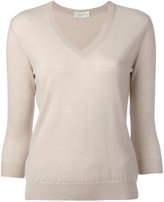 Zanone V neck sweatshirt - women - Virgin Wool - 44