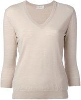 Zanone V neck sweatshirt - women - Virgin Wool - 44