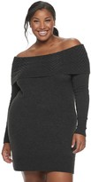 Candies Juniors' Off The Shoulder Tunic