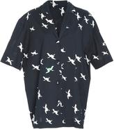 Cynthia Rowley Getaway Printed Cotton Cabana Shirt